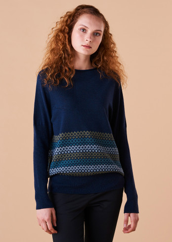 Isla Jumper - Teal (front)