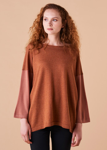 Juliet Top - Amber (front)