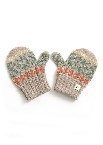 Alice Kids Mitten - Wheat