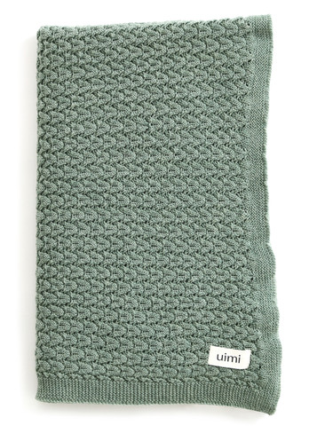 Ruby Blanket - Merino Wool - Jade