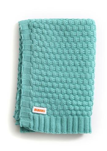 Bellamy Blanket - Aqua