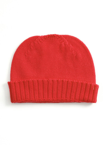 Ike Kids Beanie - Blood Orange
