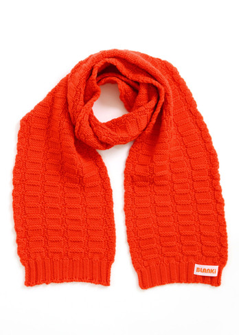 Imogen Kids Scarf - Blood Orange