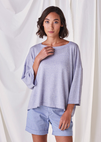Esme Top - Cornflower