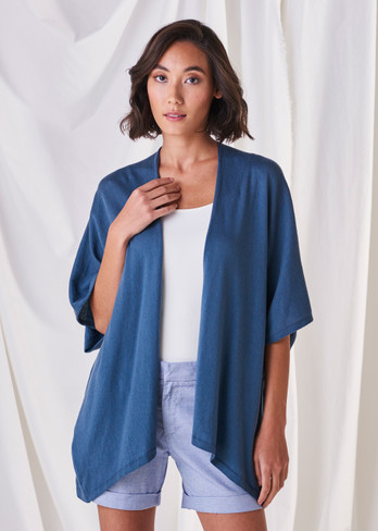 Eve Kaftan - Steel Blue