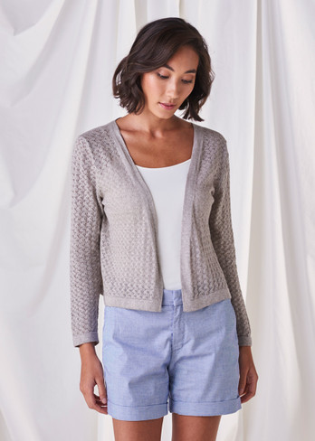 Layla Cardigan - Dove
