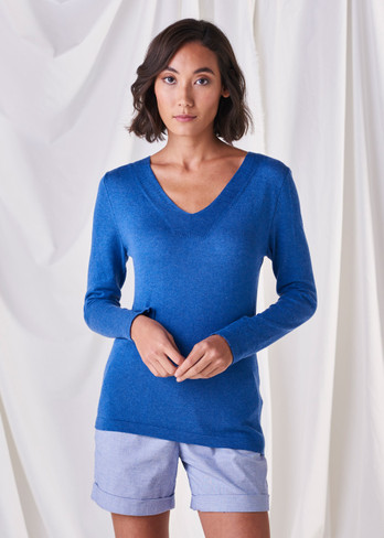 Melody Top - Cobalt