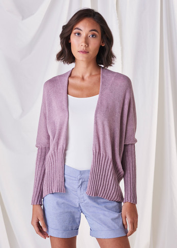 Quinn Cardigan - Heather