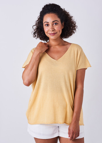 Tully Tee - Butter