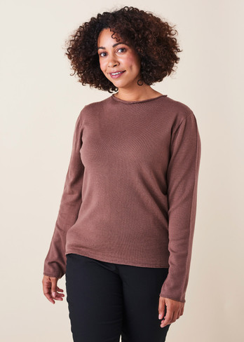 Phoebe Top - Clay