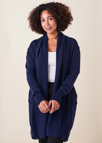 Marni Cardigan - French Navy