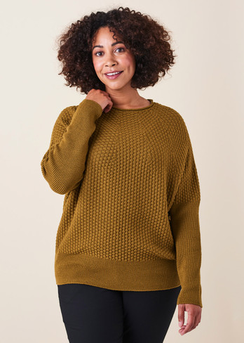 Bellamy Jumper - Saffron