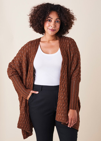 Claudia Jacket - Chestnut