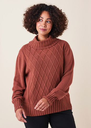 Dylan Jumper - Terracotta