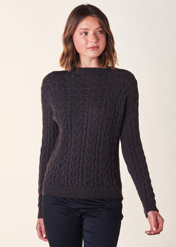 Valentina Jumper - Blackcurrant