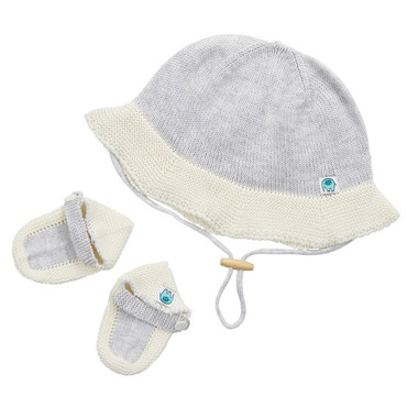 Sally baby set - Frost