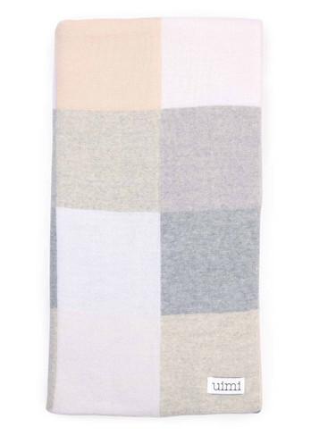 Frankie blanket - Silver (folded)
