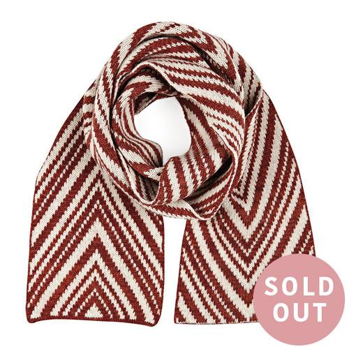 Chelsea scarf - Claret