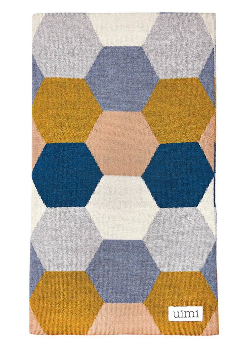 Honey Blanket - Shibori (folded)