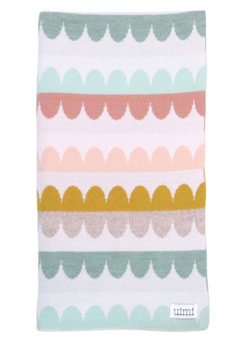 Molly Blanket - Tea (folded)
