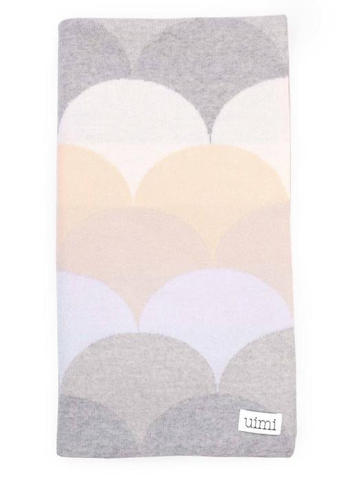 Memphis Blanket - Salt (folded)