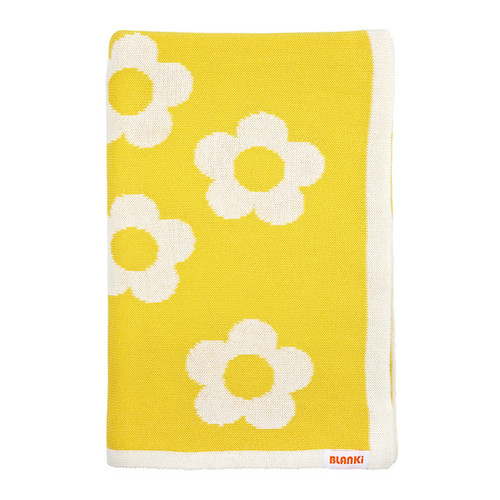 Blanki daisy chain blanket - Folded