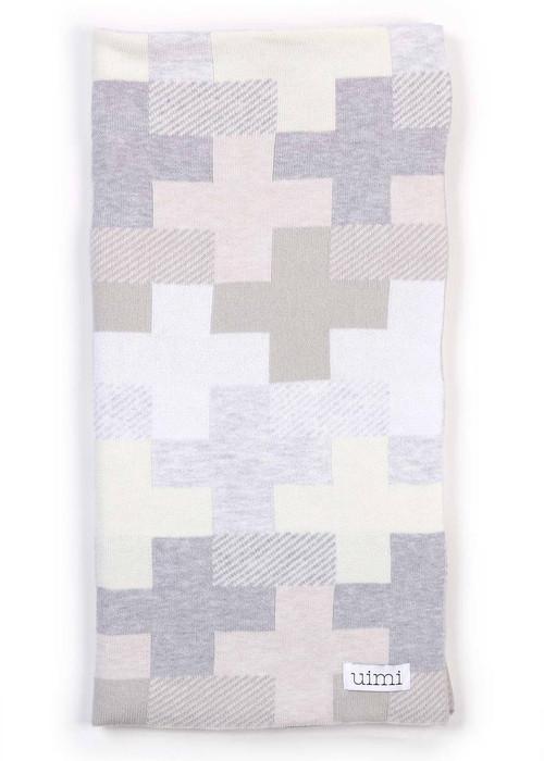 Max Blanket in Whisper (folded)
