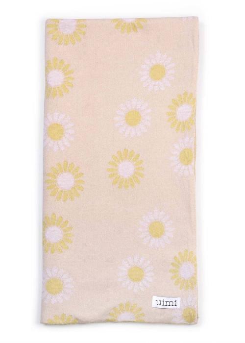 Wild Flower Blanket in Ballet (folded)