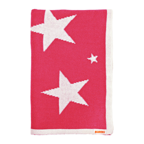 Blanki starry night blanket (azalea) - Folded