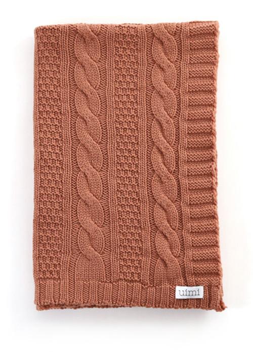 Trinity Blanket - Butterscotch
