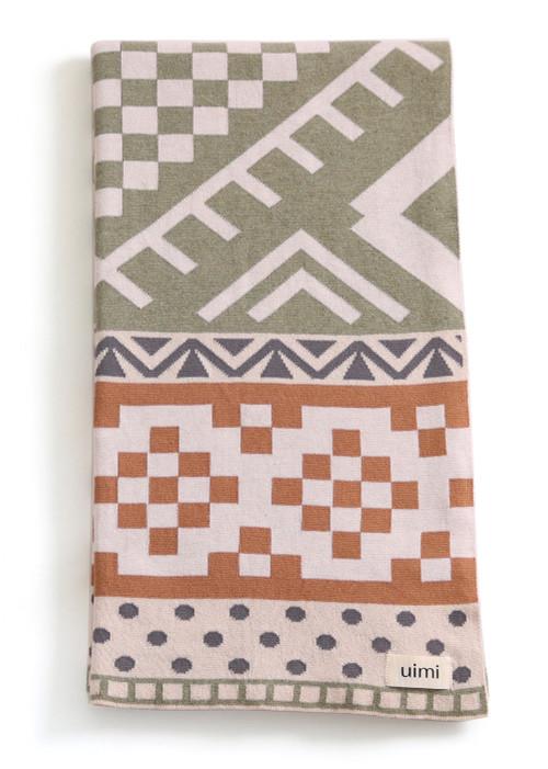 Boho Blanket - Moss