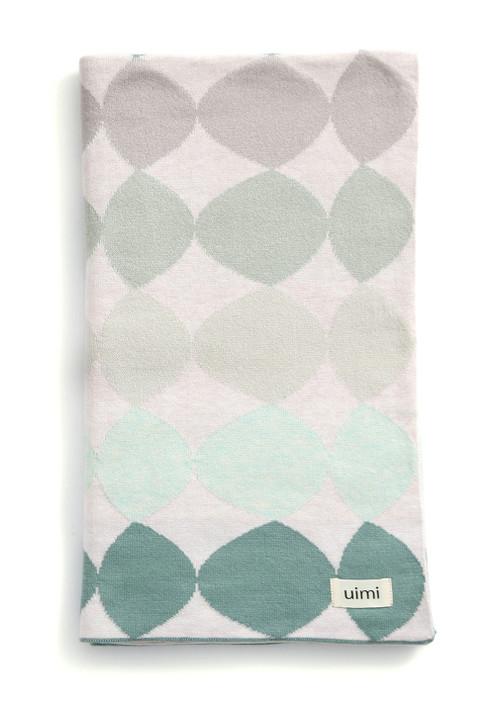 Pebbles Blanket - Seafoam