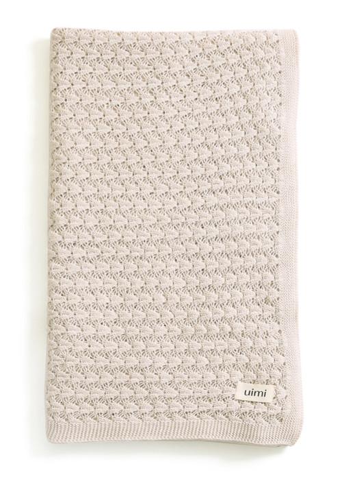 Ruby Blanket - Chalk