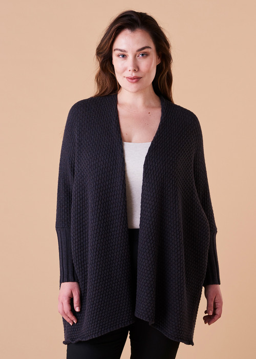 Sienna Jacket - Blackcurrant (front)