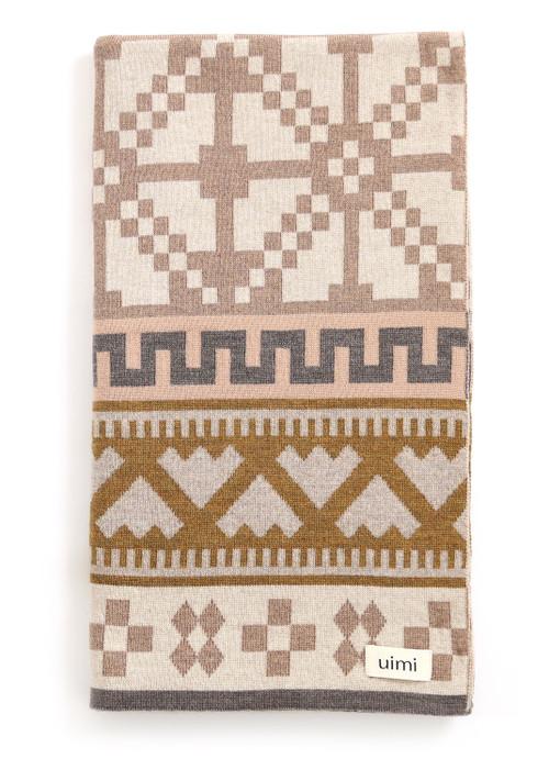 Prairie Blanket - Merino Wool - Nutmeg