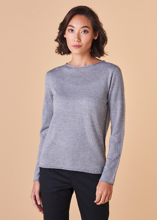 Phoebe Top - Pewter