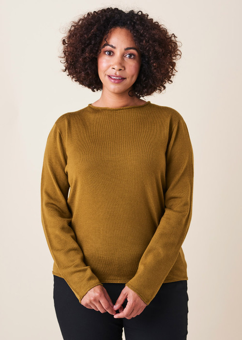 Phoebe Top - Saffron