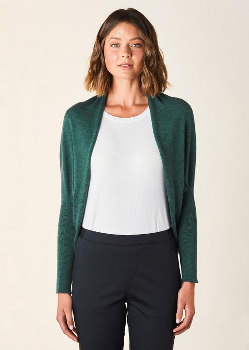 Clara Shrug - Emerald