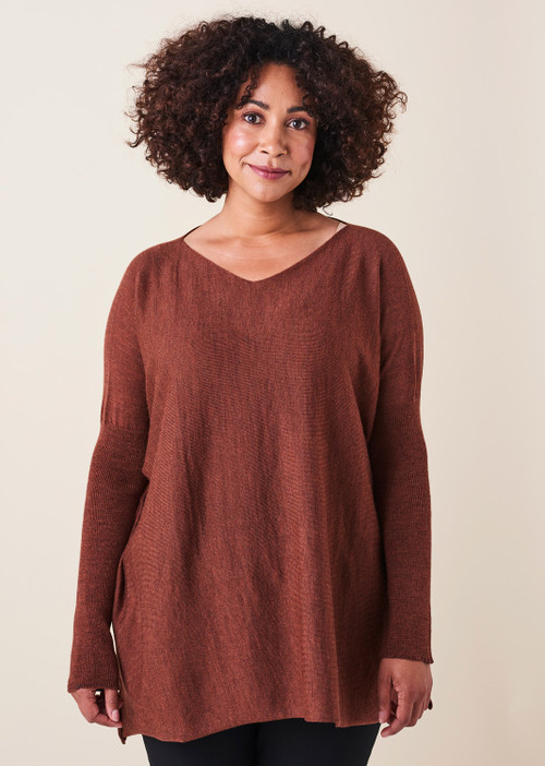 Tully Top - Chestnut