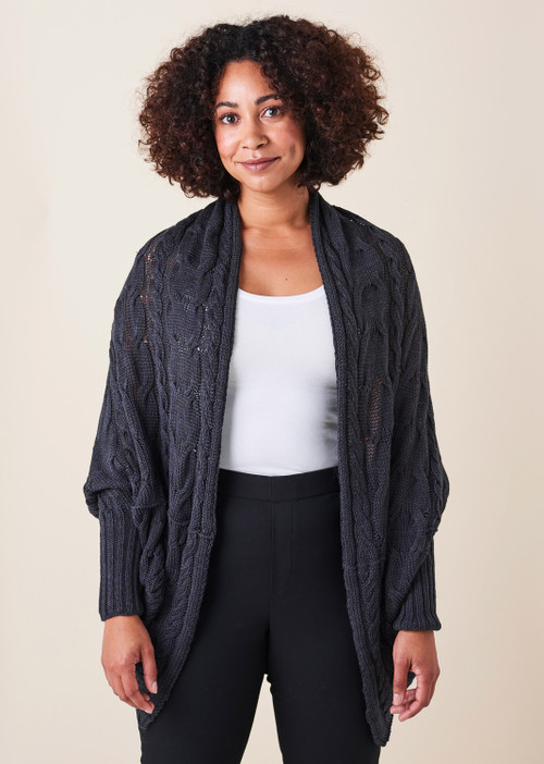 Valentina Cardigan - Blackcurrant
