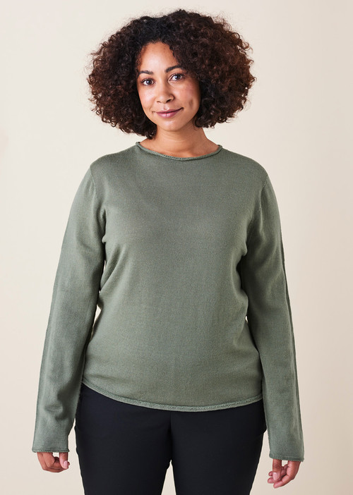 Phoebe Top - Eucalyptus
