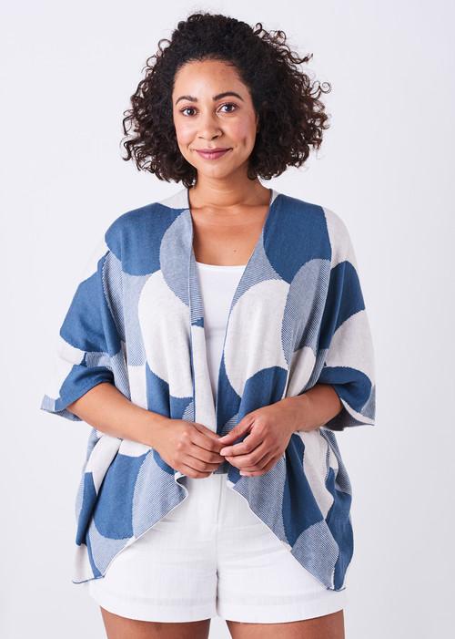 Jude Kimono - Steel Blue