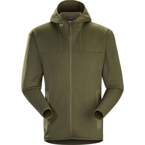 Arcteryx Naga Hoody Full Zip Men's  ARC-25602-RG-L L Ranger Green