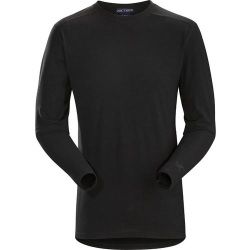 Arcteryx Cold WX LS Shirt AR - Wool - Men's  ARC-25790-BK-L L Black