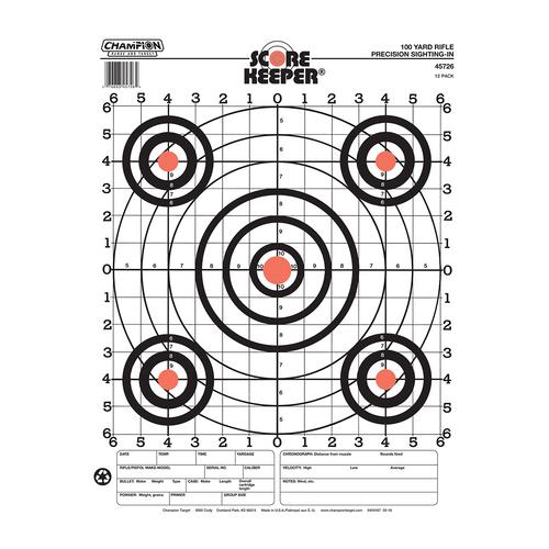 Champion Paper Targets Scorekeeper