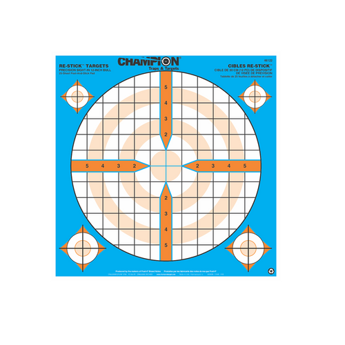 Champion Adhesive Targets