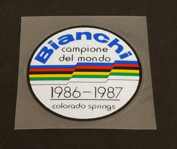 Bianchi WC CO Springs Emblem Decal