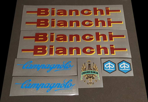 Bianchi Campagnolo Decal Set