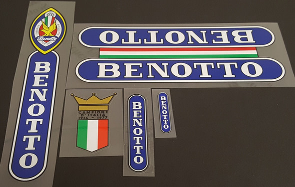 Benotto Classic Bicycle Decal Set