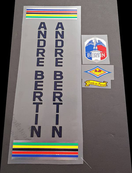 Andre Bertin Bicycle Decal Set